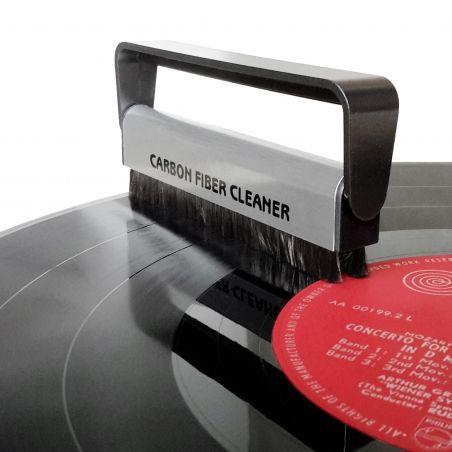 Brosse antistatique & nettoyant vinyle DOS